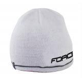 Čepice zimní FORCE UNI pletená bílá