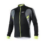 Cyklistický zateplený dres TITAN X6 | fluo/černý