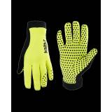 Cyklistické rukavice dlouhé X6 | neon