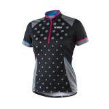 Cyklistický dres BIKER X6 | černý