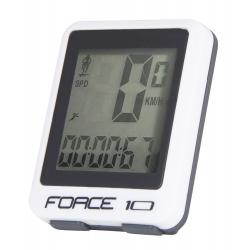 FORCE počítač 10 funkcí | drát | bílý obr.[1]